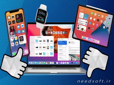 اپلیکیشن های آیفون و آیپد